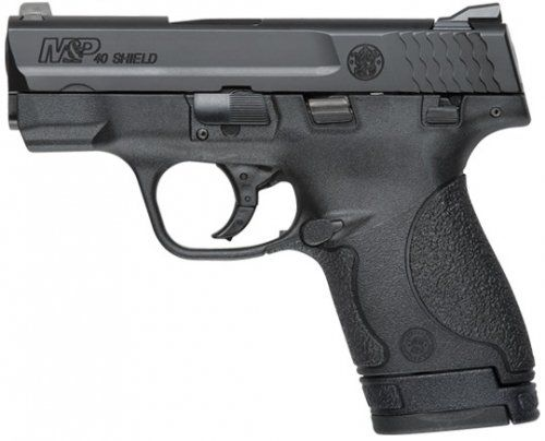 Smith  Wesson's new MP SHIELD™ is a slim, concealable, lightweight, striker-fired polymer pistol. Available in 9mm and .40 SW, the new MP SHIELD features a slim design com
