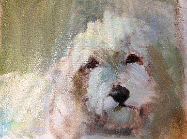 How to paint pet portraits http://caroljosefiak.blogspot.com/
