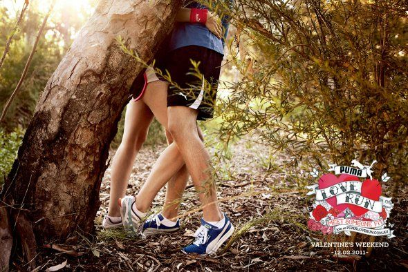 Puma love run #valentinesday ad 3