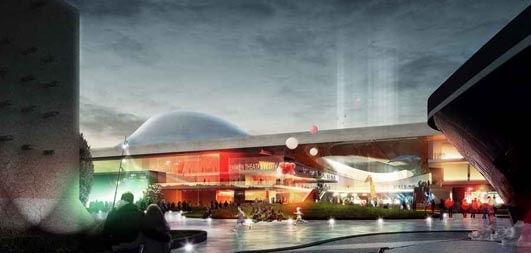 Teatro Emmen, Holanda: Holanda Zoológico de construcción Henning Larsen Architects