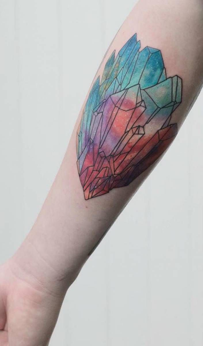 Tetování spojují půvabnou krásu přírody se strukturovanou geometrií – Creativelife.cz – Kreativní inspirace každý den
