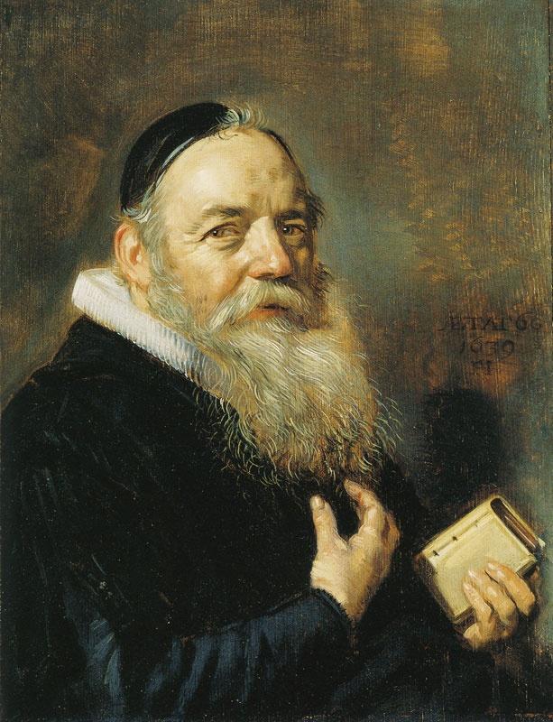Frans Hals, Portrait of Hendrick Swalmius, Detroit Institute of Arts