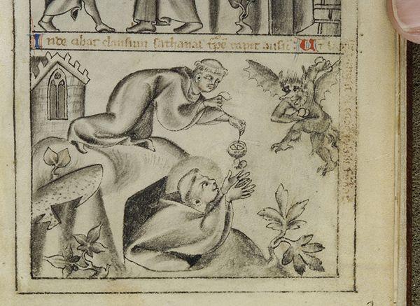 Vita et miraculae sancti Benedicti, MS M.55 fol. 3r - Images from Medieval and Renaissance Manuscripts - The Morgan Library & Museum