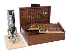 Sullivan uses his cordless Dremel for inlay, metal work, small repairs, marquetry, and other odd jobs. Before making this storage box, he ke...
