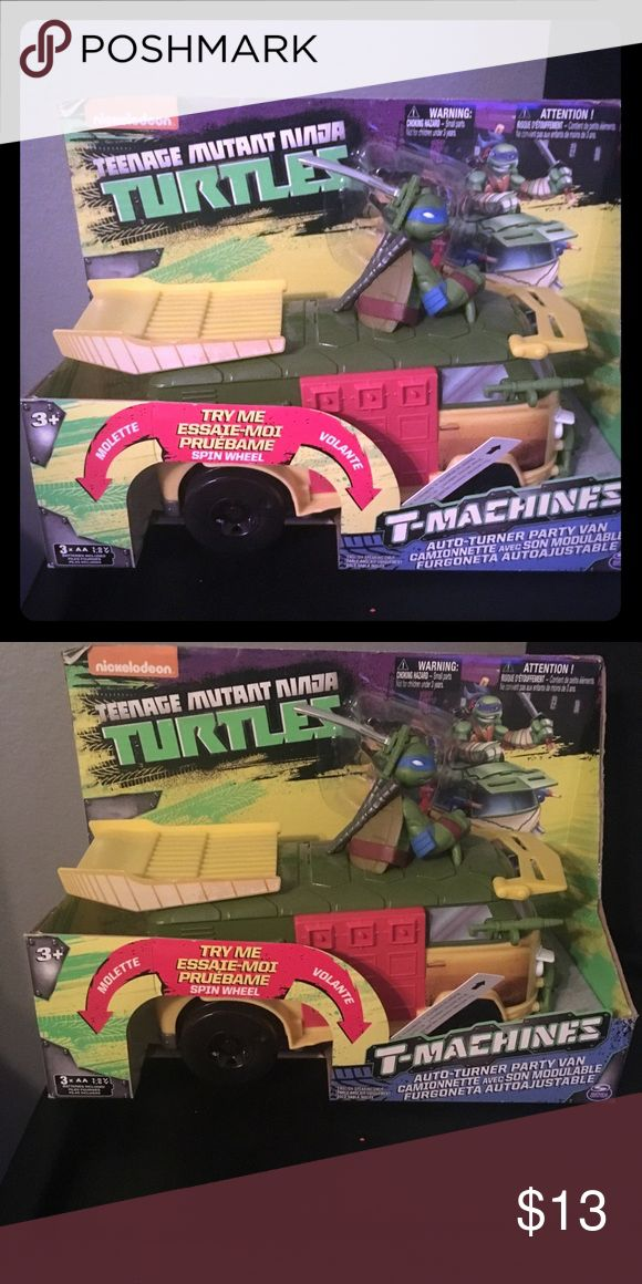 New in box Ninja Turtle toy Ninja Turtle van Nickelodeon Other
