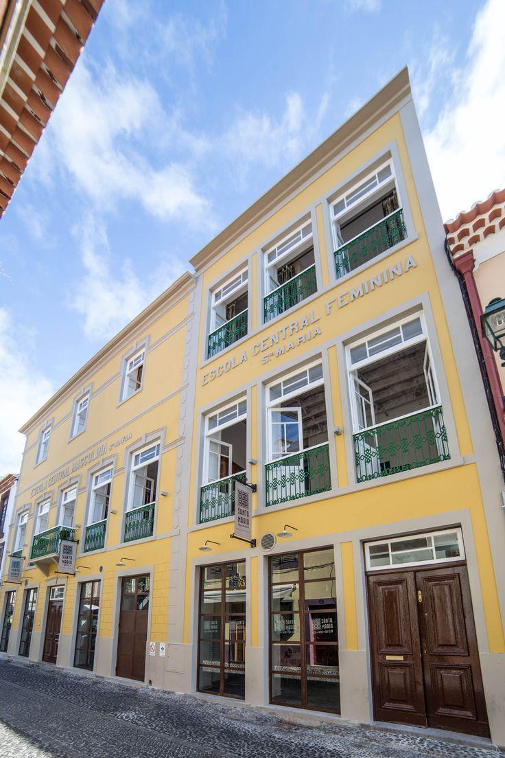 Front Entrance - Hostel Santa Maria Funchal, Madeira Island
