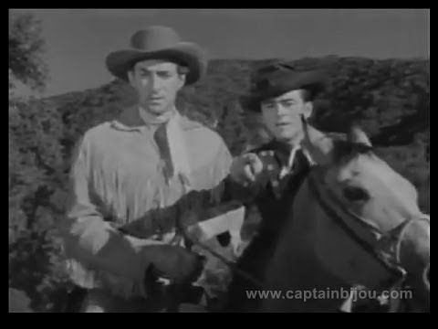 "1953 THE RANGE RIDER - TV show - ""Treasure of Santa Dolores"" - Jock Maho..."