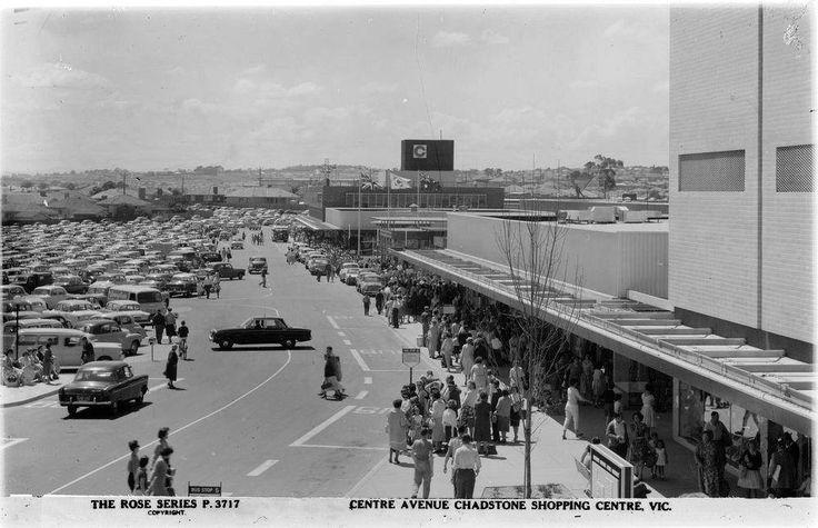 Centre Avenue, Chadstone Shopping Centre 1960