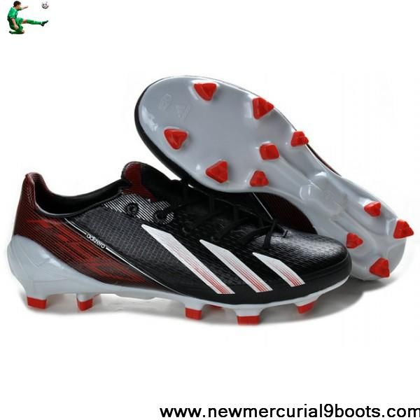 Buy Cheap Messi Adidas F50 Cleat - Adidas Adizero F50 TRX FG Boots Black Red White Soccer Boots For Sale