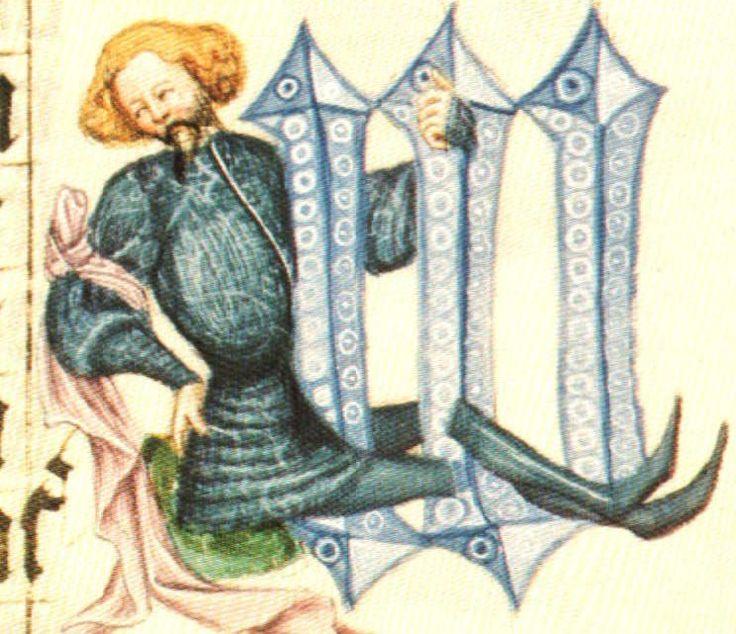 Bible Václava IV. Konec 14.století