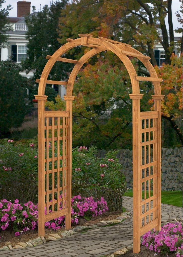 41 best images about jim 39 s arbor on pinterest gardens for Wooden garden trellis designs