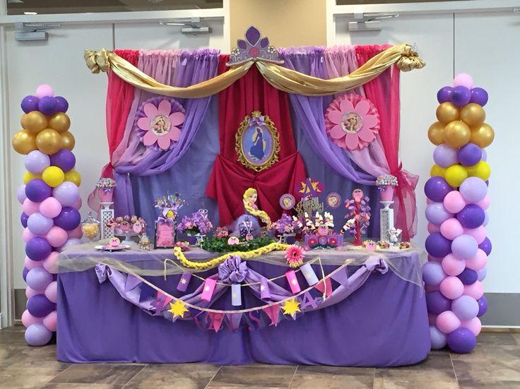 14 Best Rapunzel Party Ideas Images On Pinterest & Rapunzel Party Decoration Ideas - Elitflat