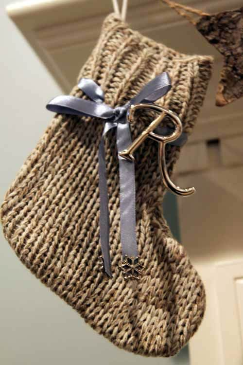 Новогодний декор – вязаные украшения своими руками  christmas knit