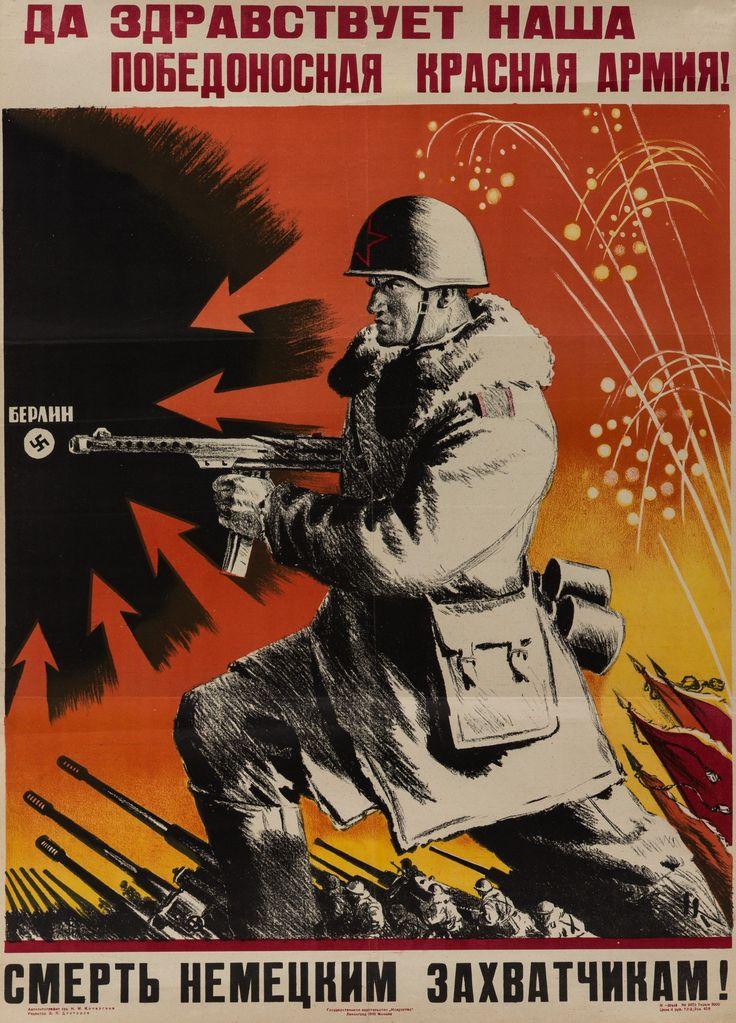 Image result for ww2 russian propaganda