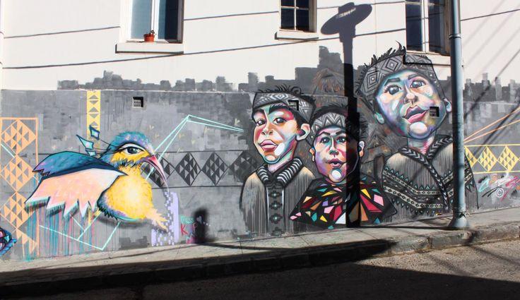 valparaíso-mural-graffity-niños-pajaro