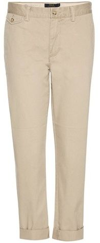 Polo Ralph Lauren Cropped Cotton Trousers