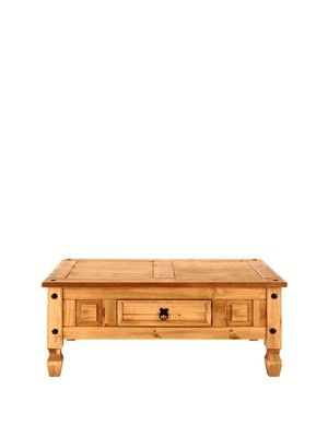 Corona Solid Pine Coffee Table