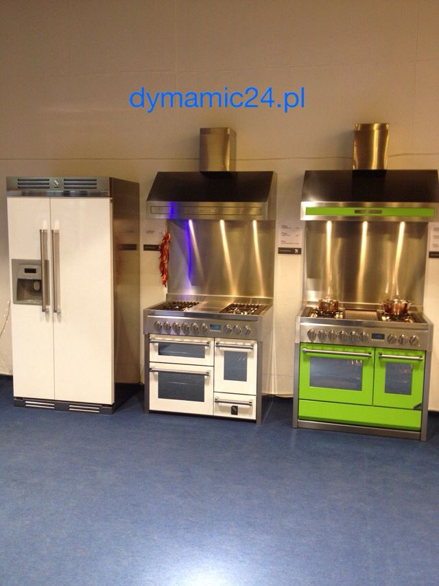 Urządzenia kuchenne włoskiej firmy Steel z lini Genesi