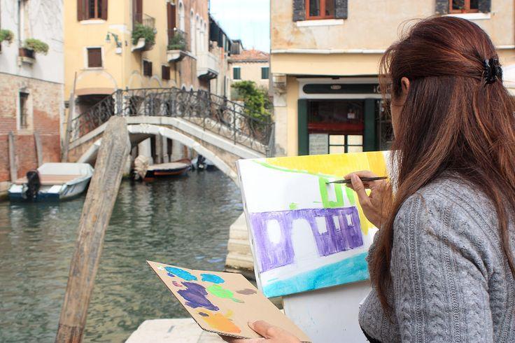 http://www.drawing-lessons.sognare-venezia.net Venezia by Paola