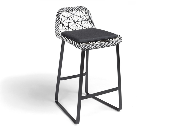 Kettal maia bar stool products for Barhocker 3d model