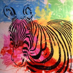 The colorful Zebra! Njut av en handmålad zebra tavla i ditt rum! De mjuka och vackra färgerna är perfekta kontraster som kommer ge ditt hem en varm och vacker känsla. Må bra med denna tavla och unna dig ett fint hem, för det är trots allt där du spenderar mest tid i ditt liv.  Länk till produkt: http://www.feelhome.se/produkt/the-colourful-zebra/ #Canvas #olipainting #interior #Painting #handpainted #interiordesign #canvastavla #canvastavlor #animal #zebra #colorful #natur #vardagsrum #djur
