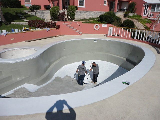 11 best images about swimming pool waterproofing repair - How to fix a hole in a swimming pool ...