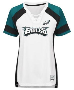 Majestic Women's Philadelphia Eagles Draft Me T-Shirt - White