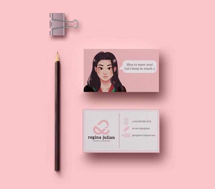Pin Oleh Mary Theresia Di Name Card Di 2020