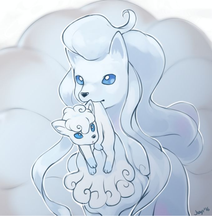 The new vulpix is so much cuter than the original