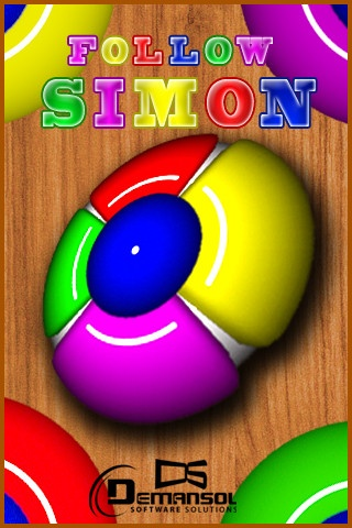 Follow Simon's Music ($0.00) an you outsmart Simon?    Simon will blink a light while buzzing a sound.Wait for him to finish and then click that same button.     This way you watch the computer and follow the pattern sequence in the same order for as long as you can remember.    Only game is appstore on the Simon Says concept having different level of difficulties.
