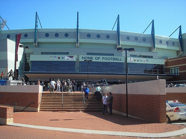 Subiaco Oval, Perth (Western Australia) - Home field of two AFL clubs: West Coast Eagles and Fremantle Dockers; and home turf to state league teams of the West Australian Football League (WAFL)...