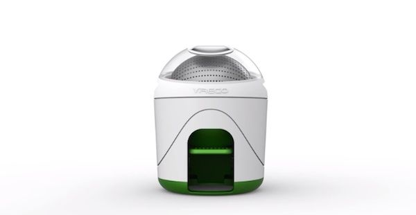 A Mini Washing Machine Perfect For Small Homes, Works Without Electricity - DesignTAXI.com