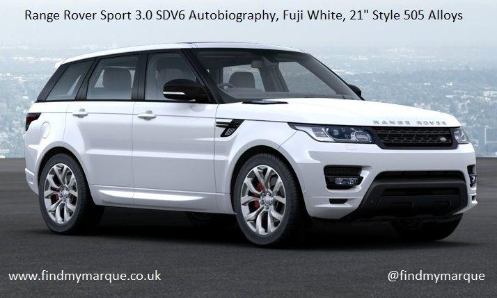 Range Rover Sport SDV6 Autobiography 7 Seat