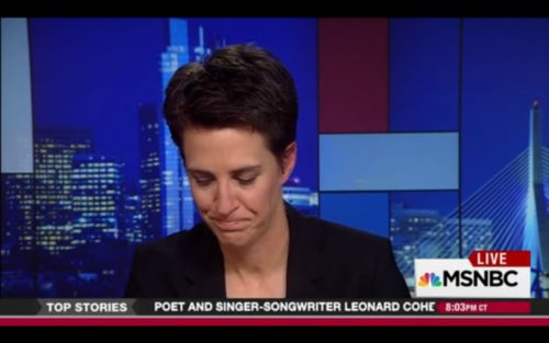 """MSNBC host Rachel Maddow: """"Mike Pence said you should not only take away money from HIV and AIDS programs, he said AIDS funding should be taken away from serving people with HIV and AIDS,"""" she said, """"because instead it should be diverted into government-funded programs designed to cure people from being gay, to try to fix gay people."""""""