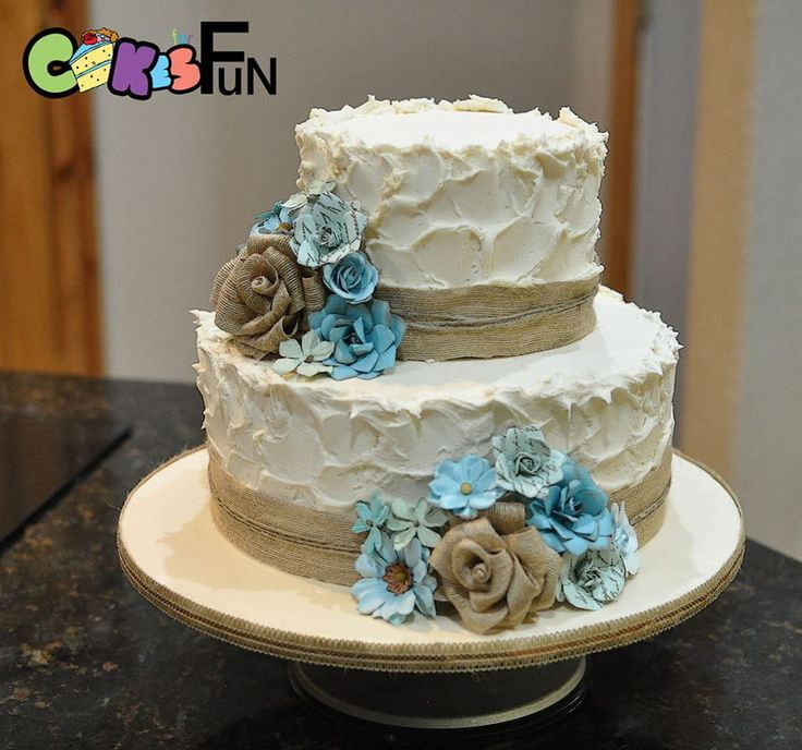 Rustic Wedding Cake On Cake Central Torty In Pir 225 Cie V