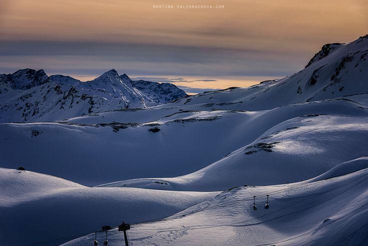 In snow kingdom - Winter in Santa Caterina, Italy.