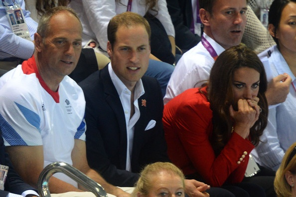 Kate Middleton and Prince William Photo - Olympics Day 7 - Swimming
