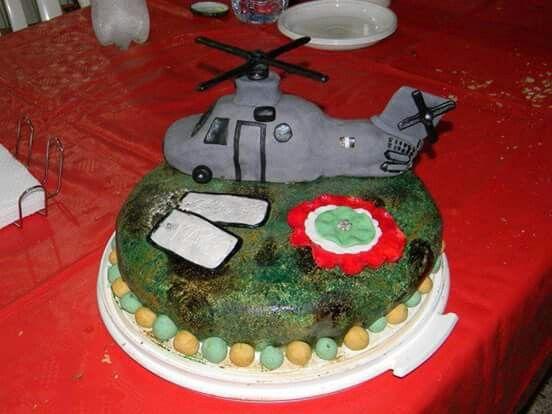 Torta elicottero