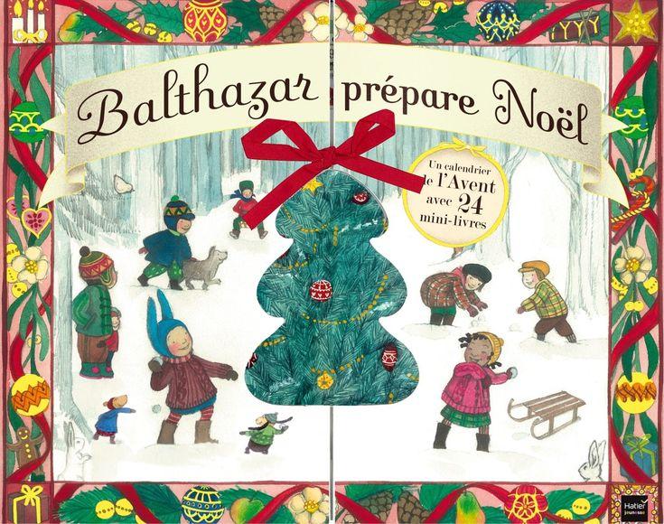 Avec ce calendrier de l'Avent, on découvre 24 mini-livres à lire en famille pour préparer Noël avec Balthazar et Pépin. On le lit tous les Noël! (pin sponsorisé)