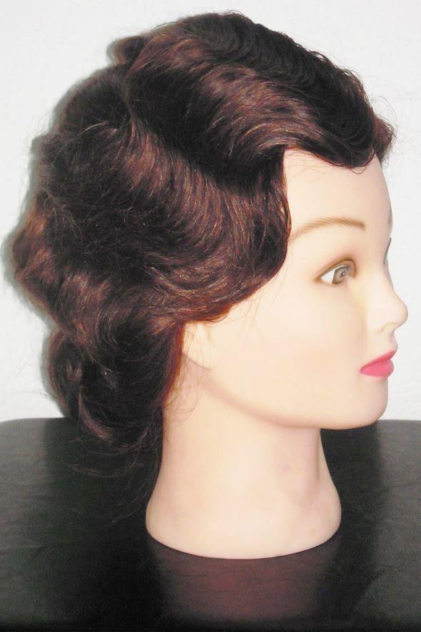 Vintage Fingerwave Hairstyle. #Fingerwave #Hairstyle #1920s