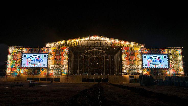 Stage at Przystanek Woodstock Poland