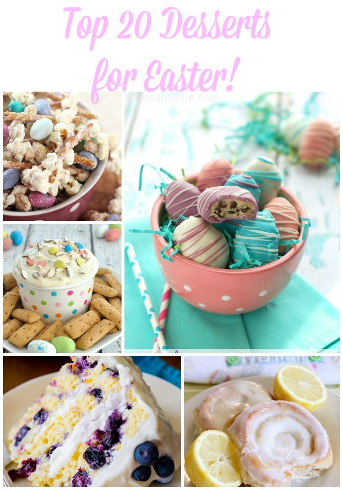 Looking for the perfect dessert for your Easter gathering? Check out our Top 20 Desserts for Easter this year. We cannot wait to try all of these.