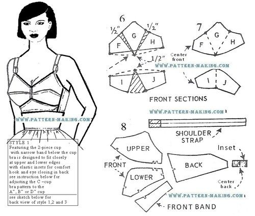 306 best FREE Vintage Patterns & Tutorials (Sew, Knit