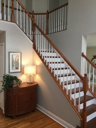 Foyer Staircase Benjamin Moore And Paint Colors On Pinterest