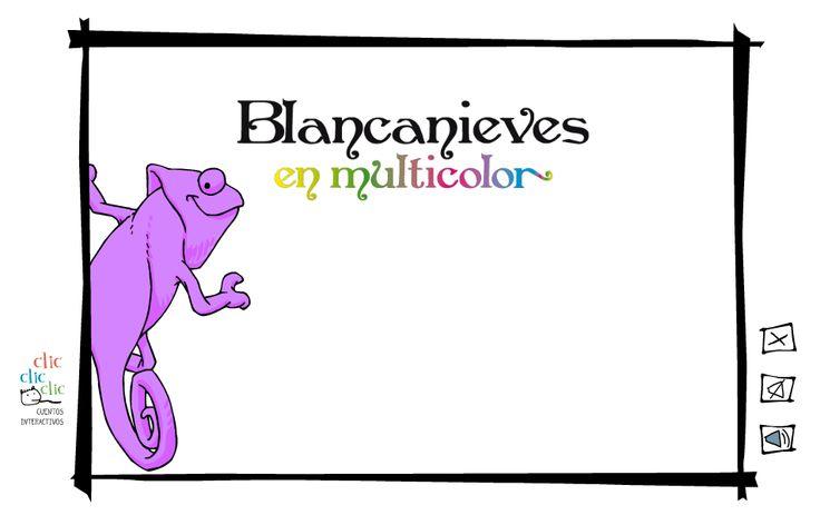 El mundo al revés – Blanca Nieves en multicolor-