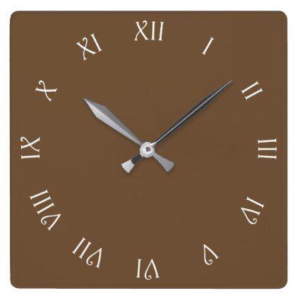 Best  Brown Wall Clocks Ideas On   Clocks Wall