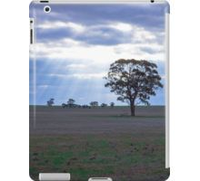 Lone Tree and a Curtain of Sunrays - Boort, Victoria iPad Case/Skin