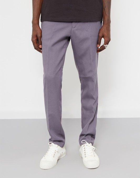 Farah Denby Rigid Hopsack Trousers Grey| Shop now at The Idle Man | #StyleMadeEasy