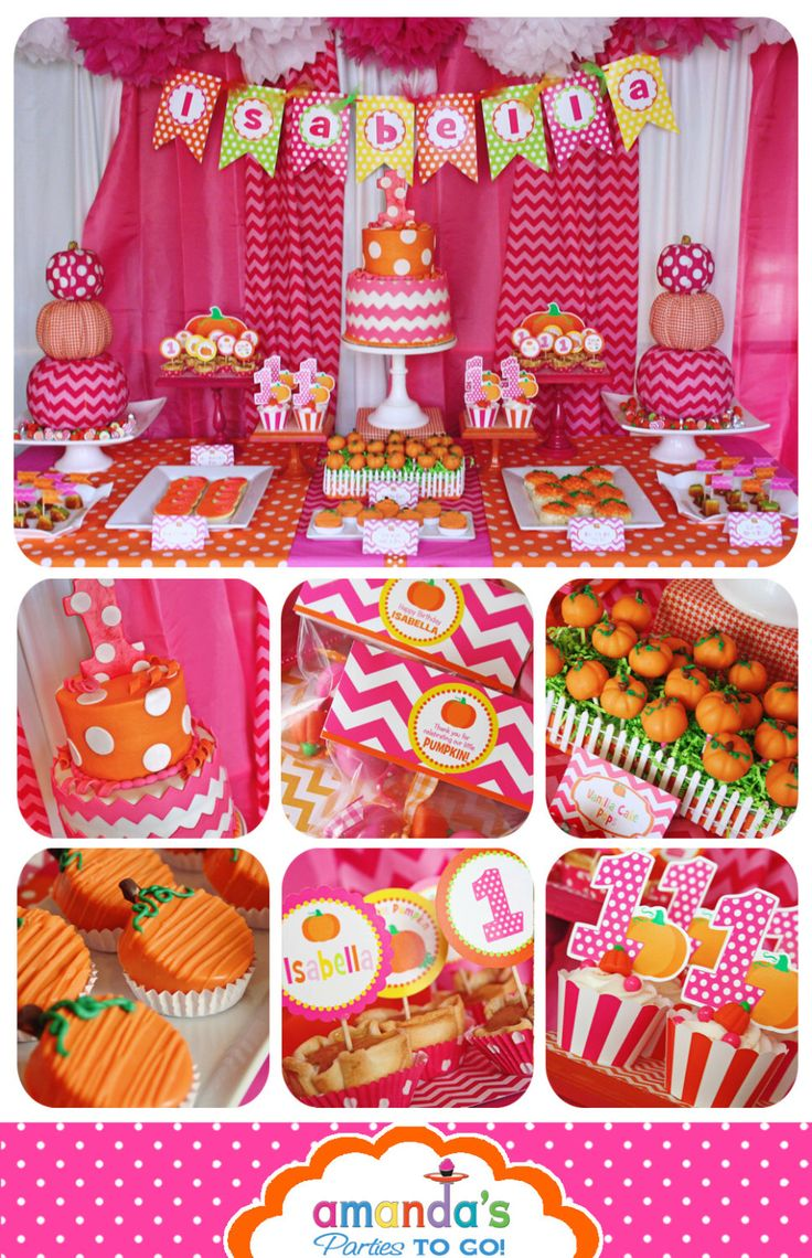 Pumpkin Patch Party Decorations | Pumpkin Party Printable | My Little Pumpkin | Girl Pumpkin | Pink Pumpkin Birthday | Amandas Parties To Go by AmandasPartiesToGo on Etsy https://www.etsy.com/listing/167452586/pumpkin-patch-party-decorations-pumpkin