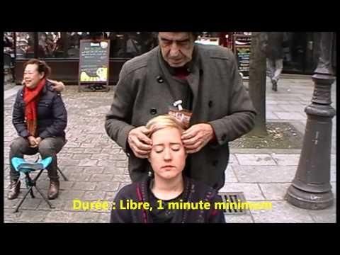 MASSAGE du VISAGE projet 2015 - YouTube